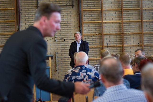 MEEDEN - PvdA-bijeenkomst windpark N33