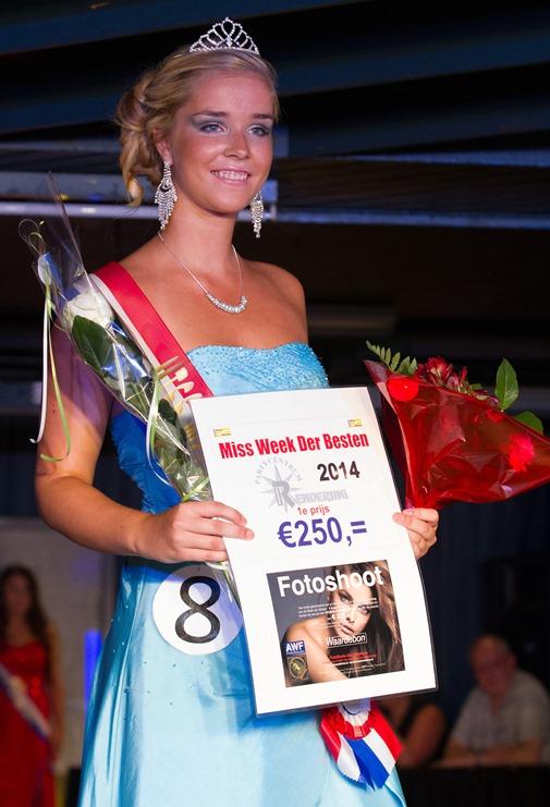 VLAGTWEDDE - Danique Hensens Miss Week der Besten