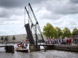 Heropening Van Gogh-bruggetje Winschoten