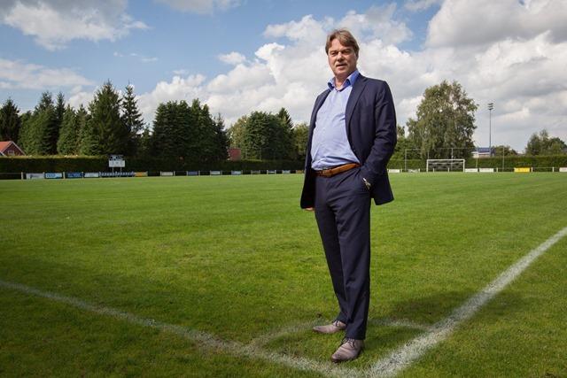 Fred van Beusekom voorzitter vv Meeden
