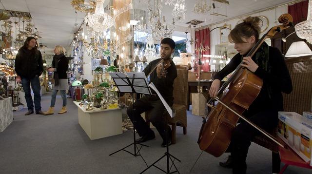 Walk In Concerts - zondag 3 november 2013 - diverse locaties binnenstad van Groningen