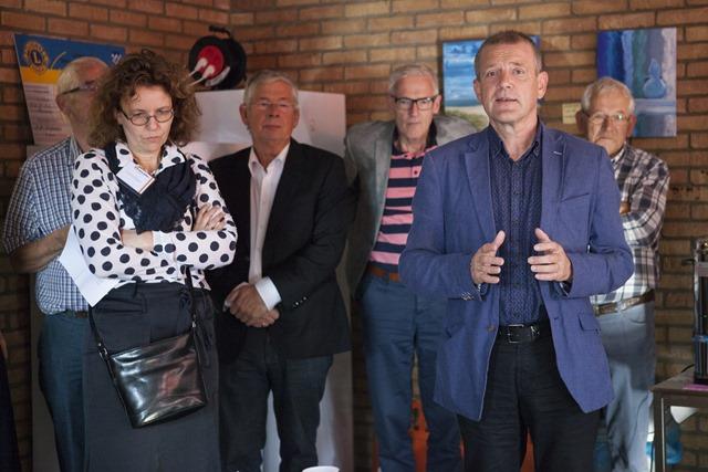 Opening voedselbank Hoogezand