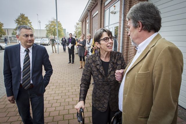 WINSCHOTEN - Jetta Klijnsma en Hennie Hemmes