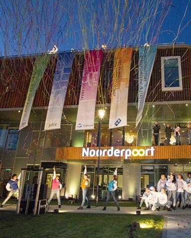 Spectaculaire opening nieuwe Noorderpoort in Stadskanaal