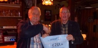 VEENDAM - Odd Fellows Cheque