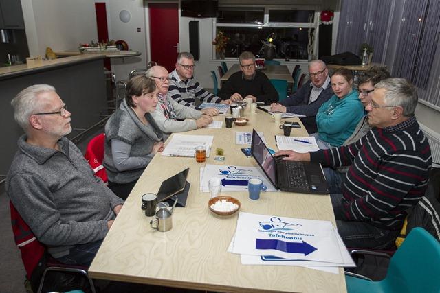 WINSCHOTEN - Commissie Open GK Tafeltennis