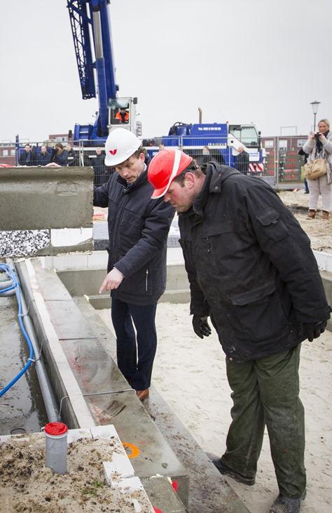 Start bouw woningen Albert Cuyplaan Veendam