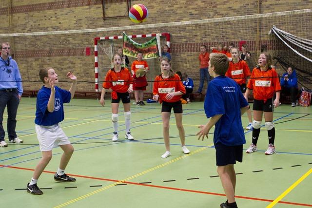 Volleybaltoernooi in De Spont Stadskanaal