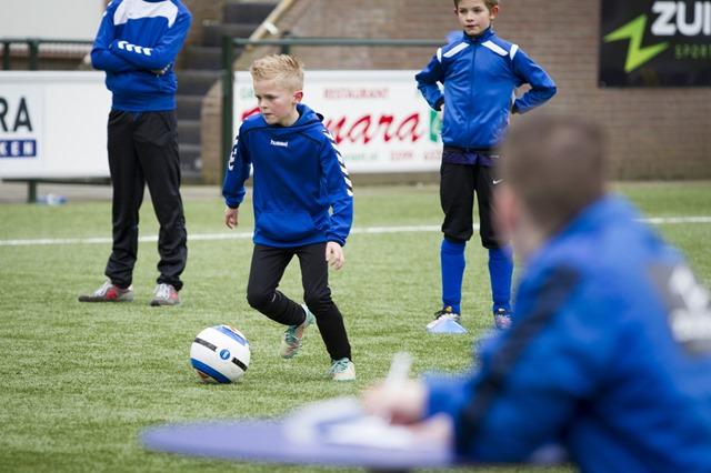 Techniekkampioenschappen voetbalschool Nijgh Stadskanaal