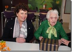 VLAGTWEDDE - Mevrouw Bazuin-Henssems uit Vlagtwedde 101 jaar