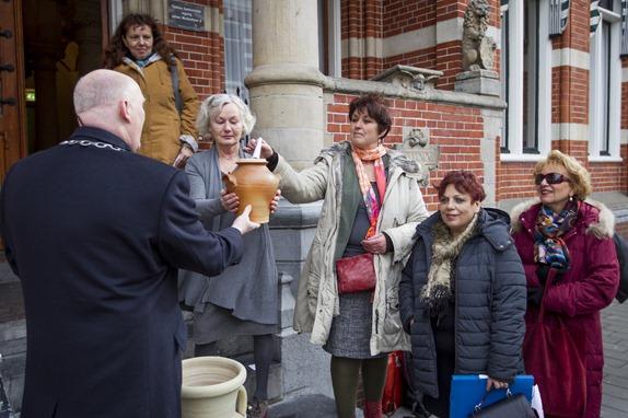 WINSCHOTEN -Stichting Anfora estafette