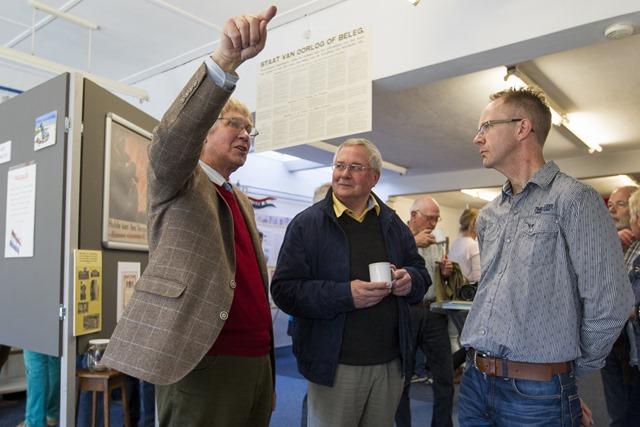 Expositie 70 jaar bevrijding Oostwold