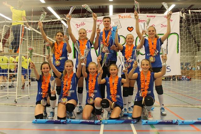 SCHEEMDA - Abiant Set Uppers kampioen
