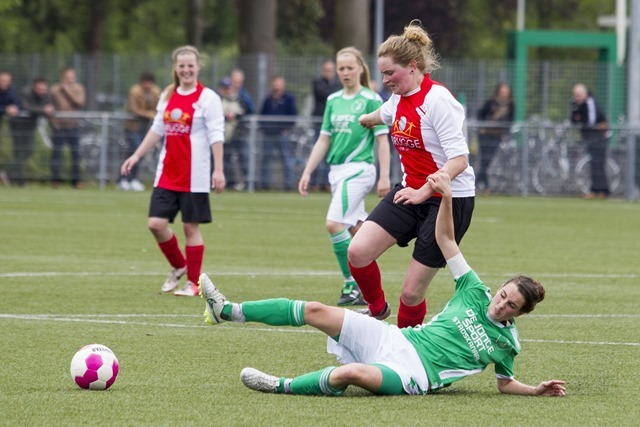 Damesvoetbal: Musselkanaal - Siddeburen