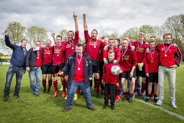 MOVV wint kampioenschapswedstrijd tegen ASVB in Scheemda