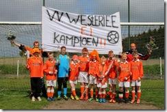 WESTERLEE - Westerlee E1 kampioen