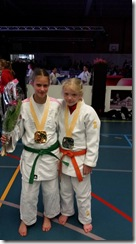 Cindy Oost en Luna Arends