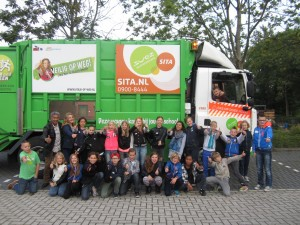 OBS Oosterhoogebrug Groep 8R Groningen 24-09-2015