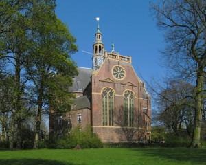 De Nieuwe Kerk (1665) in Groningen. Het gebouw is een rijksmonument (rm 18583).