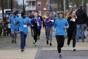 06-02-2016, Bedumer Winterloop,Groningen Run voor jong en oud , om geld in te zamelen voor het Umcg voor kanker onderzoek NOVUM COPYRIGHT / ORANGE PICTURES /JAN WESTMAN