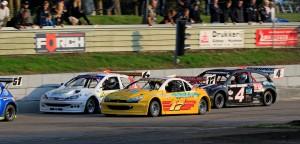 Close racing bij de National Hotrods