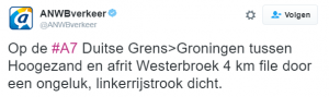 ongeluk westerbroek