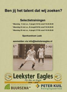 Leekster Eagles talentjacht