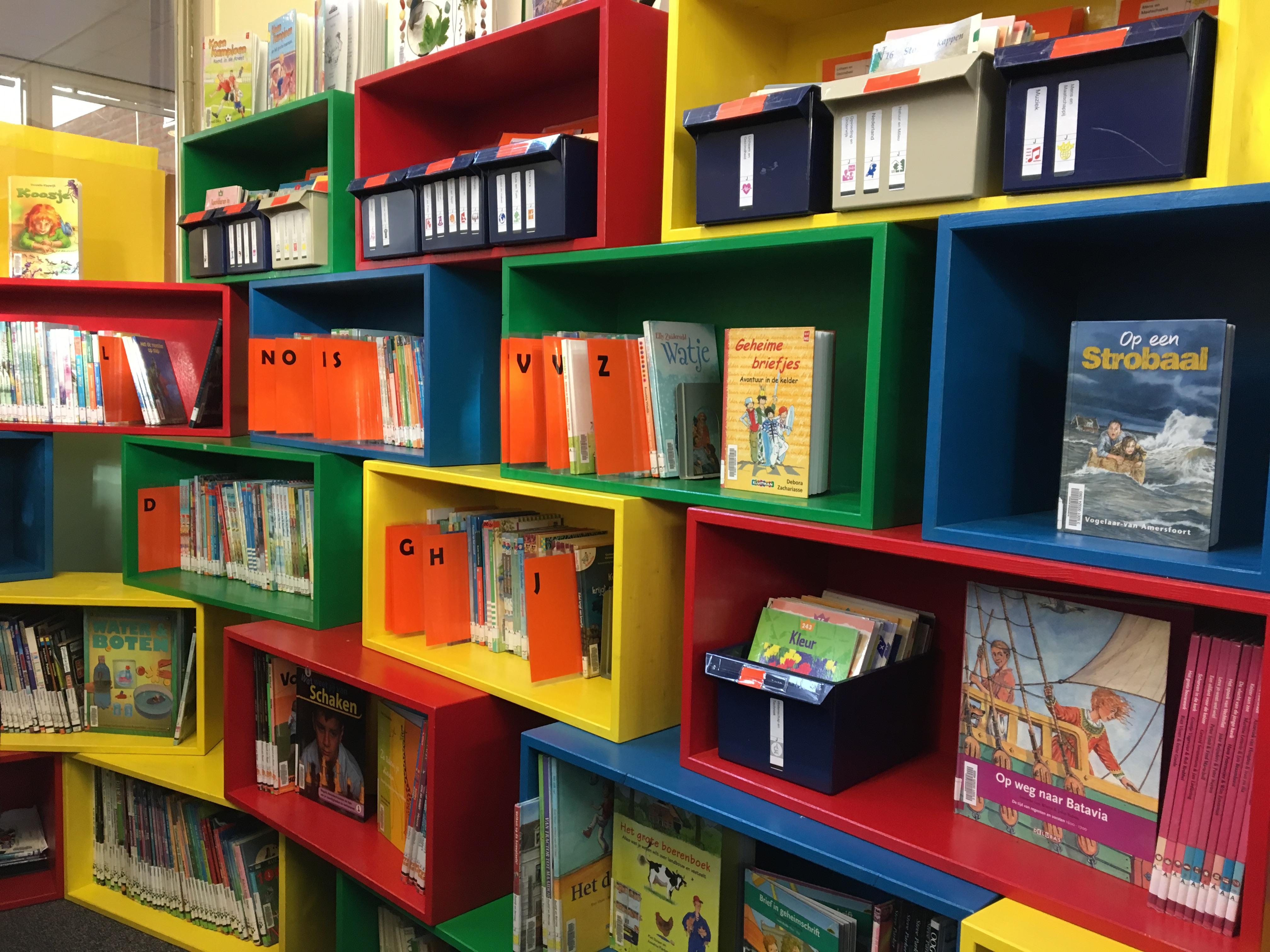 Bibliotheek op school geopend op gbs de lichtbron groot groningen - Idee bibliotheek ...